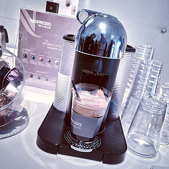 Nespresso - A VertuoLine machine and capsules