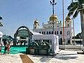 A view of Fatehgarh Sahib Gurudwara, martyrdom of Fateh and Zorawar Singh, Punjab India.jpg