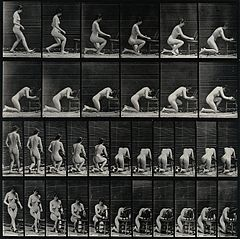 A woman kneeling down to pray. Photogravure after Eadweard M Wellcome V0048658.jpg