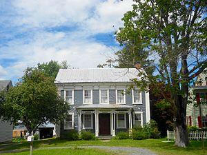 Aaronsburg Historic District - Image: Aaronsburg PA house