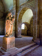 AbbayeFontenay-ViergeEnfant