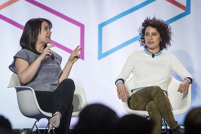 File:Abbi Jacobson and Ilana Glazer at Internet Week 11.jpg