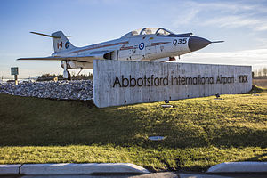 Abbotsford International Airport - Abbotsford Airport Entrance