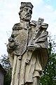 Abda, Nepomuki Szent János-szobor 2021 10.jpg