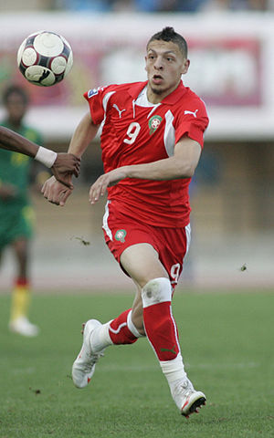Abdessalam Benjelloun - Benjelloun playing for Morocco in 2009