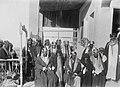 Abdulaziz ibn Muhammad Al Saud with Mubarak Al-Sabah in Kuwait, 1910.jpg
