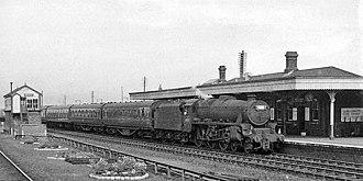 Abergele & Pensarn railway station - The station in 1962