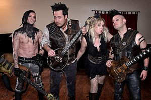 Abney Park (band) - Abney Park Band in Torrance California on February 25, 2017