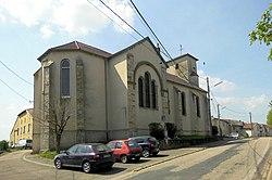 Aboncourt (Meurthe-et-Moselle), Église Saint-Pierre et Saint-Paul, côté sud-est.JPG