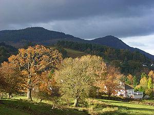 Braithwaite - Image: Above Derwent Braithwaite