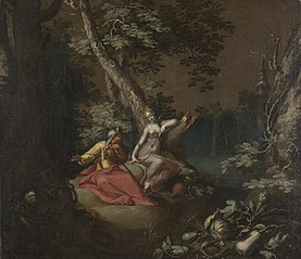 Landscape with Vertumnus and Pomona
