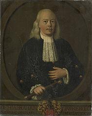 Abraham van Riebeeck (1653-1713). Gouverneur-generaal (1709-13)