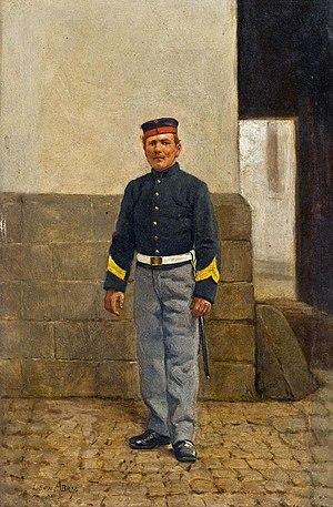 Léon Abry - Soldier (date unknown)