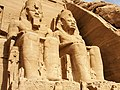 Abu Simbel Temple 阿布辛貝神廟 - panoramio.jpg