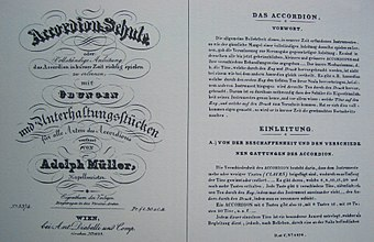 The first pages in Adolph Muller's accordion book Accordionschule1.JPG