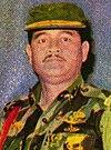 Acub Zainal în uniformă de luptă, Irian Barat dari Masa ke Masa, p234-235 (decupat) .jpg