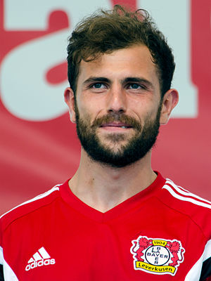Admir Mehmedi - Mehmedi with the Bayer Leverkusen in 2015