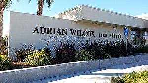 Adrian C. Wilcox High School - Image: Adrian Wilcox High School Santa Clara California