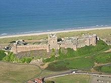 Bamburgh castle wikipedia for Boden great britain