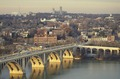 Aerial view with a focus on Francis Scott Key Bridge between Northern Virginia and the Georgetown neighborhood of Washington, D.C LCCN2011632764.tif