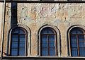 Affreschi della facciata di palazzo dell'antella, 1619, primo piano 01 pietà di o. vannini, scienza e pallade.JPG