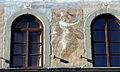 Affreschi della facciata di palazzo dell'antella, 1619, secondo piano 07 pace di fabrizio boschi.JPG