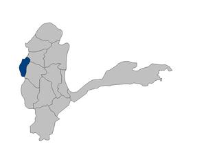 Shahri Buzurg District - Image: Afghanistan Badakhshan Shahri Buzurg district location