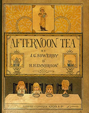 Under the Window - Cover of Afternoon Tea (1880)