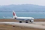 Air China ,CA922 ,Airbus A330-243 ,B-6549 ,Departed to Shanghai ,Kansai Airport (16800969771).jpg