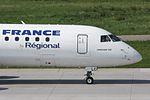 Air France (Regional Airlines) Embraer 190LR (ERJ-190-100LR) F-HBLC (21441873255).jpg