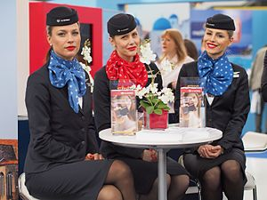 Air Serbia - Air Serbia flight attendants