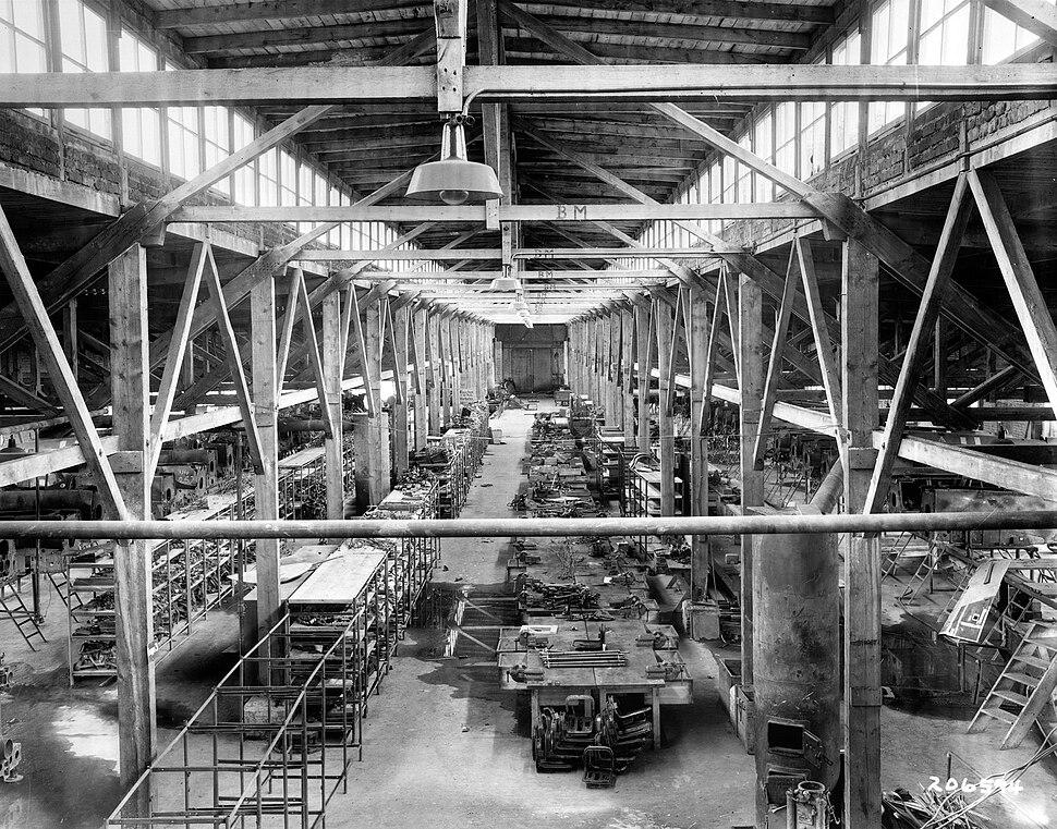 Aircraft factory at Flossenbürg