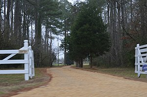 National Register of Historic Places listings in Gloucester County, Virginia - Image: Airville gate