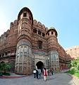 Akbari Darwaja - Innermost Southern Entrance - Agra Fort - Agra 2014-05-14 4055-4064.tif