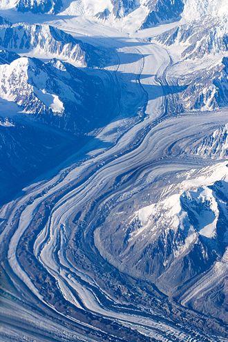 Alaska Range - Alaska Range Glacier