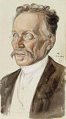 Portrait of Professor J.W. Runeberg