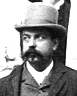 Albert Houtum-Schindler Scholar of Persia and an employee of the Persian government.