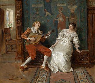 Falling in love - Albert Schröder - Musikalische Unterhaltung (circa 1885).