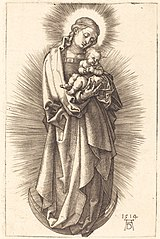 Virgin and Child on the Crescent Moon with a Diadem