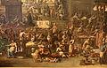Alessandro magnasco e collaboratore, mercato (il mercato del verziere), 1733 circa 06.JPG