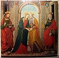Alesso di benozzo, visitazione tra i ss. jacopo e stefano, 1500-10 ca., da s.jacopo a voltiggiano 01.JPG