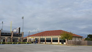 LSU Tigers baseball - Worley Family Batting Cage Pavilion