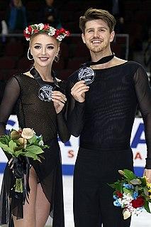 Alexandra Stepanova Russian ice dancer