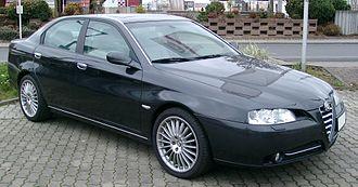Alfa Romeo 166 - Alfa Romeo 166, facelifted model