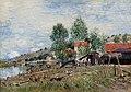 Alfred Sisley (1839-1899) - Boatyard at Saint-Mammès - 2464 - Kelvingrove Art Gallery and Museum.jpg