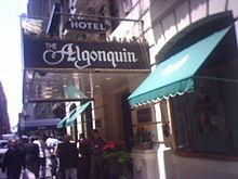 Algonquin Hotel - Algonquin Hotel â€