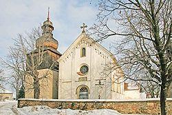 All Saints Church, Zumberk, Czech Republic.jpg