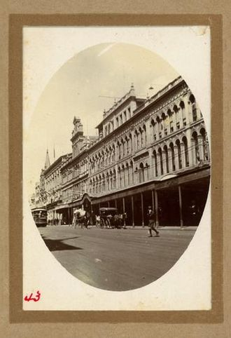 James Allan (Queensland politician) - Image: Allan & Stark Store Queen Street, Brisbane