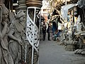 Alley Scene with Plaster Effigies - Kumartuli District - Kolkata - India - 01 (12304016895).jpg