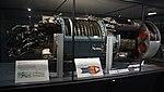 Allison J35 turbojet engine(cutaway model) at Modern Transportation Museum March 23, 2014.jpg
